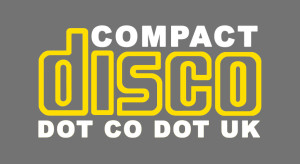 Compact Disco Logo-YELLOW